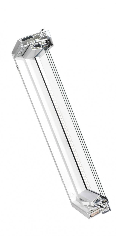 Neu kunststoff dachfenster skyfenster 3 fach verglast - Dachfenster 3 fach verglasung ...