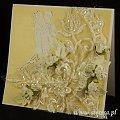 kartka #ślubna #ręcznie #robiona #steresa #rumia